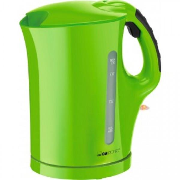 Электрочайник зеленый CLATRONIC WK 3445