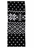 Теплые гамаши с орнаментом Снежинки  для девочек 110-152 рр