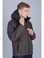 Куртка ветровка мужская серая Avecs AV-70247 Gray Размеры 46 48