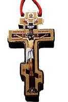 Крест деревянный с 2-х сторонней полиграфией