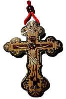 Крест деревянный средний с 2-х сторонней полиграфией