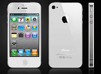 Смартфон Apple iPhone 4S 16gb Оригинал Neverlock White + стекло, фото 2