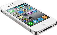 Смартфон Apple iPhone 4S 16gb Оригинал Neverlock White + стекло, фото 3