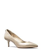 Женские кожаные туфли лодочки на каблуке Michael Kors, фото 1