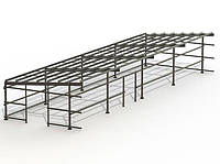 Склад 14х36 балочный, ангар, каркас, навес,фермы, помещение,цех,здание
