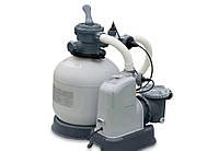 Песочный насос с хлоргенератором для бассейна Intex 10 000 л/ч хлор 11 г/ч