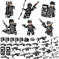 Фигурки Спецназ Policeman Commando SWAT 6 шт.