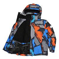 Детская зимняя мембранная термокуртка для мальчика от 6 до 14 лет DISUMER (SNOWEST)