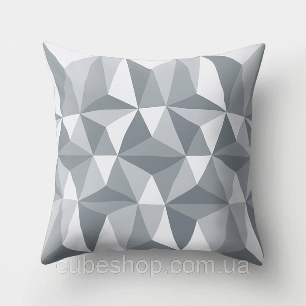Декоративная подушка Volumetric Triangularity
