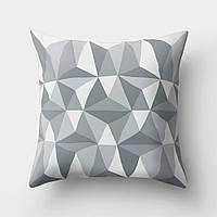 Декоративная подушка Volumetric Triangularity, фото 1