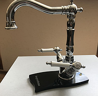 Высокий смеситель для умывальника в ретро стиле Bugnatese Princeton 834U new