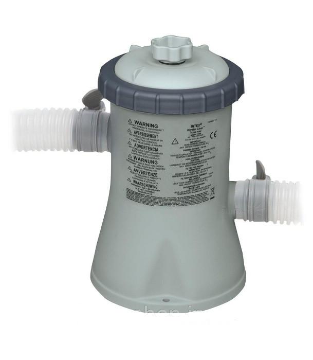 Насос для фільтрації води 1250 л/год, насос фільтр для басейну Intex