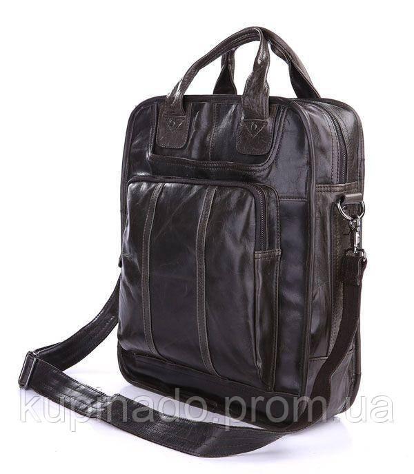 Сумка мужская Vintage 14068 Серая, Серый