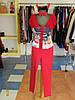 Карнавальный костюм женский Чертовка в красном  Kaprizz