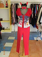 Карнавальный костюм женский Чертовка в красном  Kaprizz, фото 1