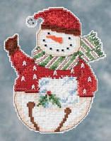 Набор для вышивки Mill Hill Flurry Snowbel