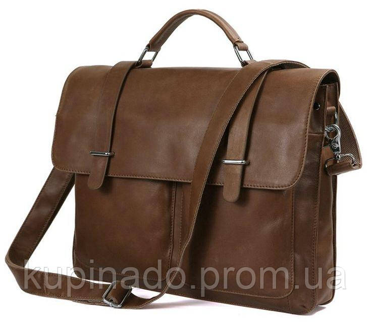 Портфель Vintage 14164 кожа Коричневый, Коричневый