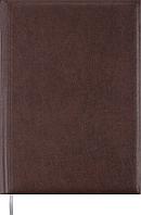 Ежедневник недатированный А4 Buromax BASE, 288 стр. коричневый, BM.2094-25