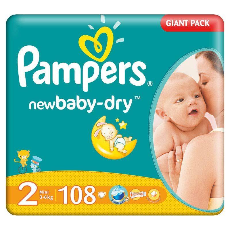 Подгузники Pampers Active Baby 2 mini (3-6кг) 108 шт., цена 400 грн ... ac3c4f781f2