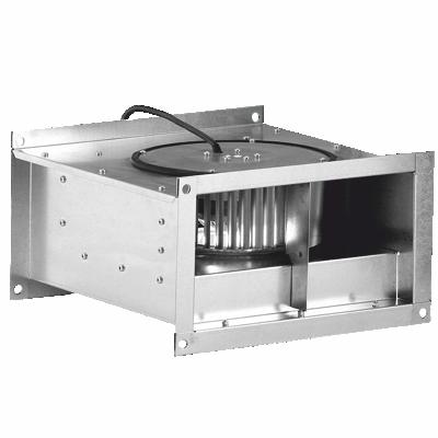 Вентилятор канальный, центробежный для прямоугольных каналов  DOSPEL.
