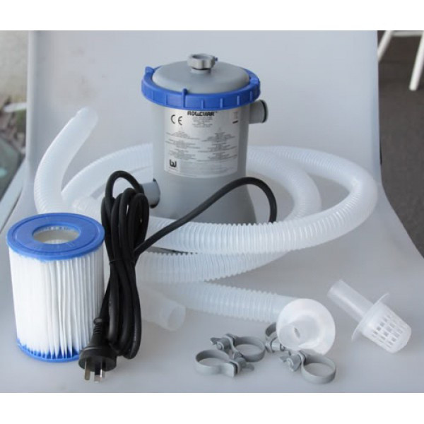 Картріджний насос фільтр для басейну Bestway Flowclear 2006 л/год