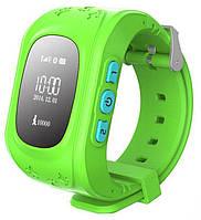 Умные детские GPS часы Smart Kids Watch Q50 Салатовые