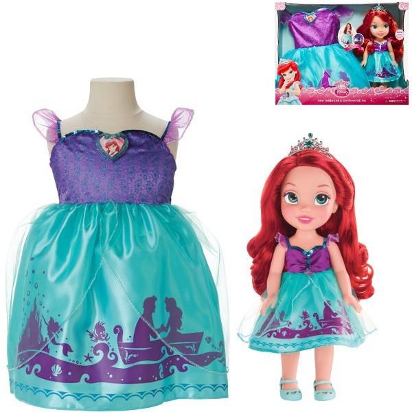 Кукла Disney Jakks Аниматор Ариель Русалочка и Платье 77028