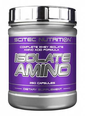 Аминокислота Scitec Nutrition Isolate Amino (250 caps)