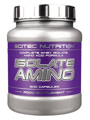 Аминокислота Scitec Nutrition Isolate Amino (500 caps)