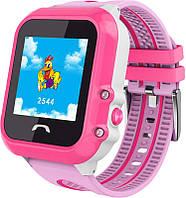 Смарт-часы UWatch DF27 Kid waterproof smart watch Pink (DF27K)
