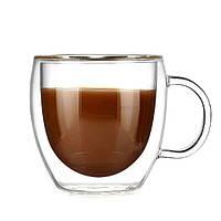 Чашка с двойными стенками  еспрессо 90мл