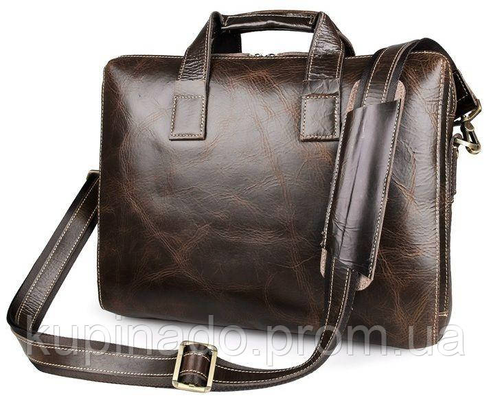 Сумка мужская Vintage 14240 Коричневая, Коричневый