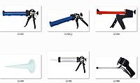 Степлеры, заклепочники и сшиватели, пистолеты для герметиков и пены