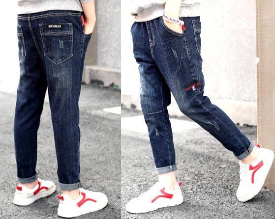 Модные джинсы для мальчика осень