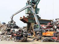 Перегружатель металлолома ATLAS 350MH