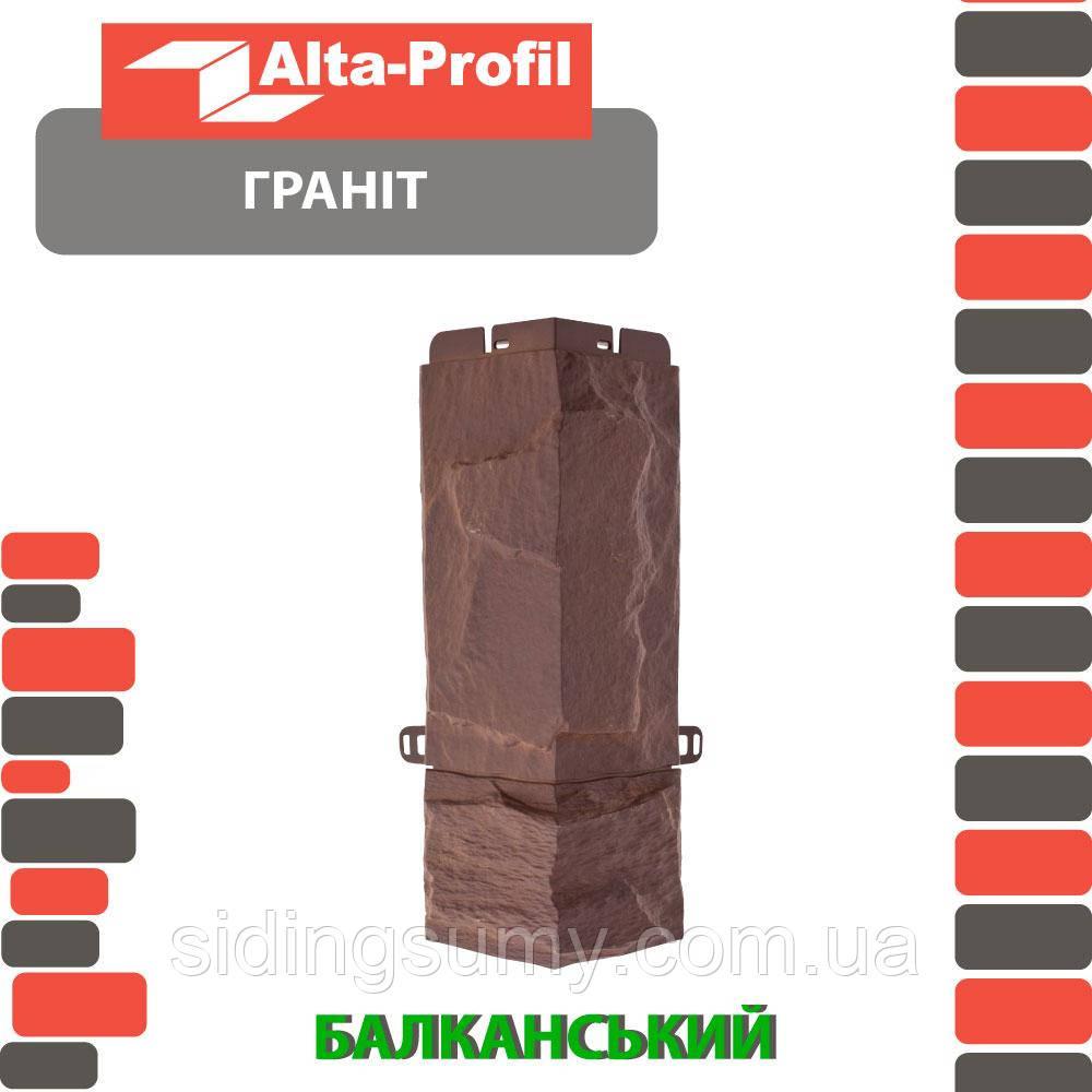 Зовнішній кут Альта-Профіль Граніт 0,47х0,16 м Балканський