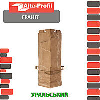Наружный угол Альта-Профиль Гранит 0,47х0,16 м Уральский