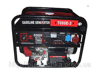 Генератор бензиновый WEIMA(Вейма) 7000E-3 (7,0кВт трехфазный)