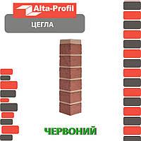 Наружный угол Альта-Профиль Кирпич 0,473х0,103 м красный