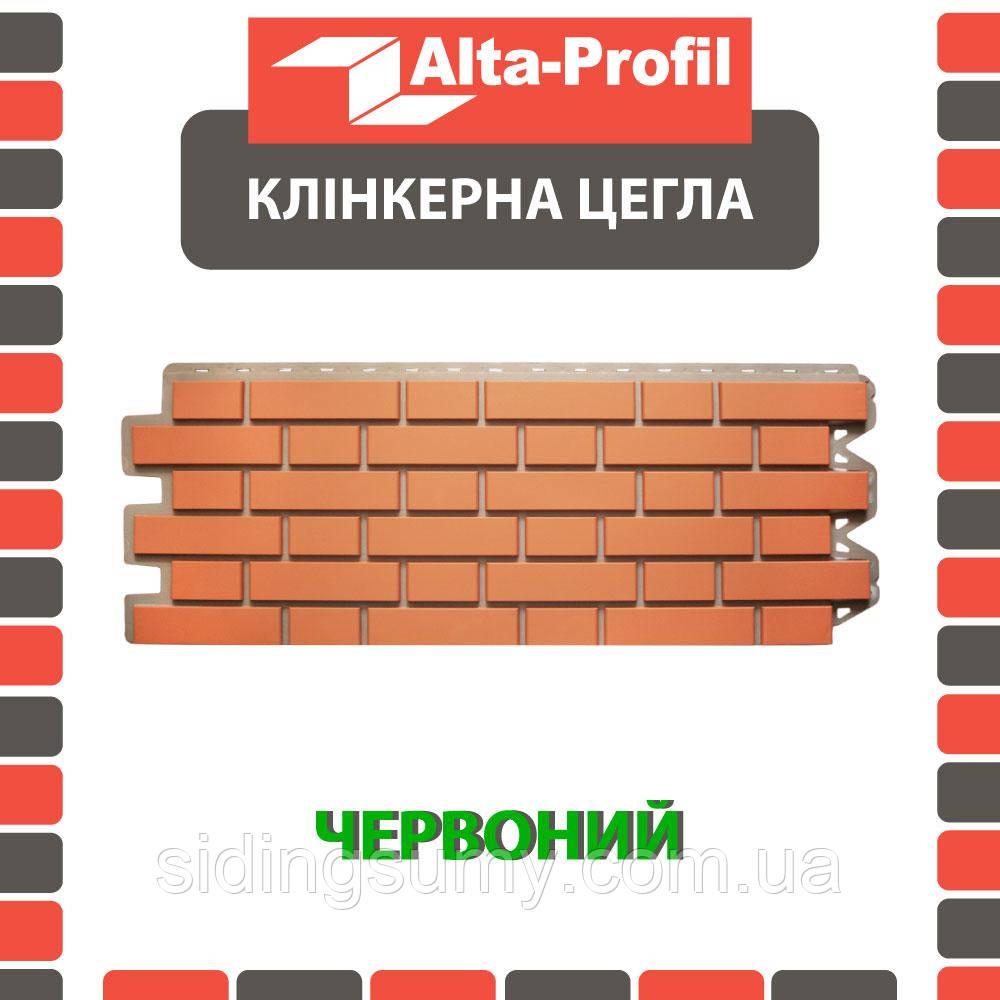 Зовнішній кут Альта-Профіль Клінкерна цегла 0,445х0,125 м червоний