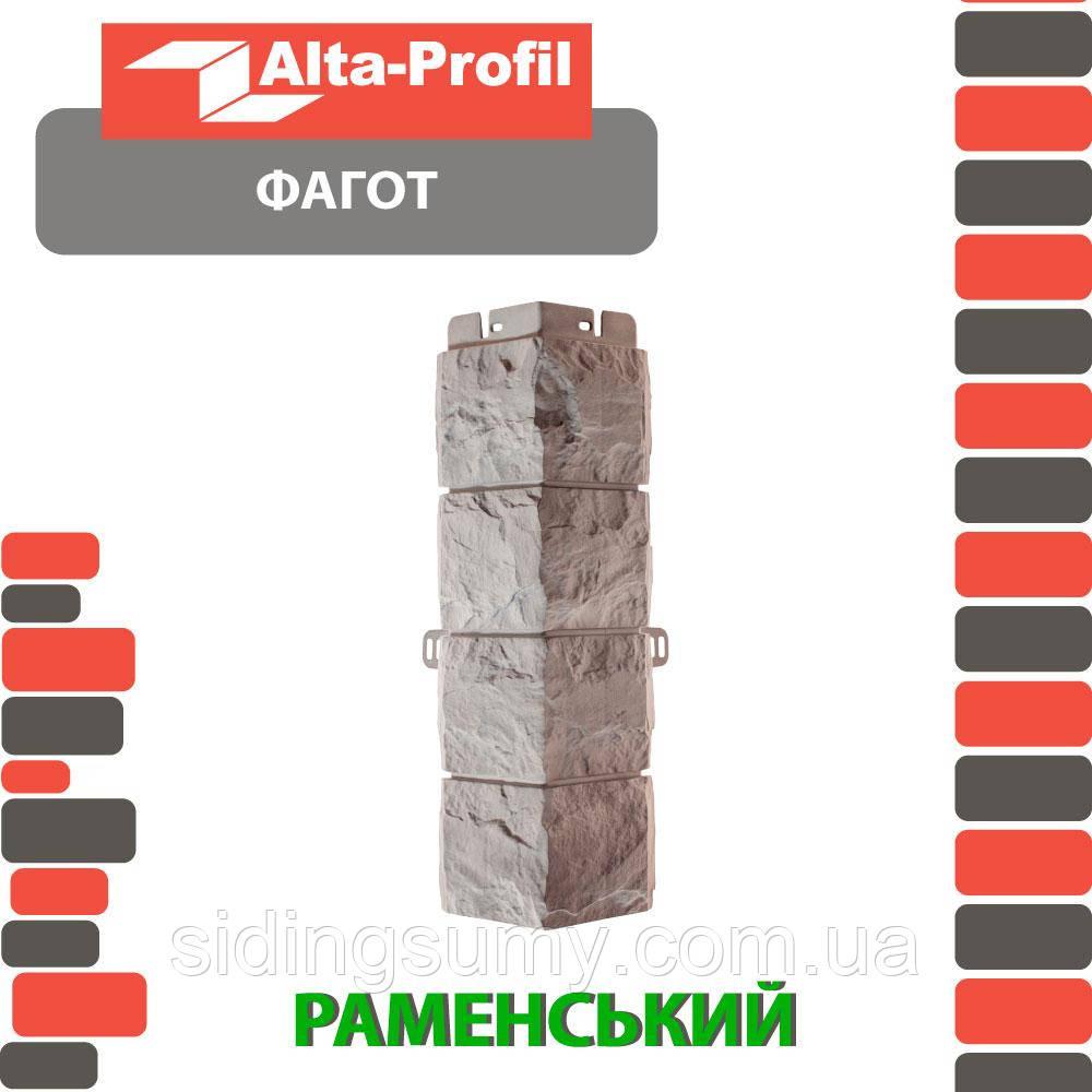 Зовнішній кут Альта-Профіль Фагот 0,445х0,148 м Ременский