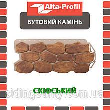 Фасадна панель Альта-Профіль Бутовий камінь 1130х470х20 мм Скіфський