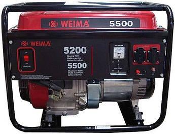 Бензиновый генератор WEIMA(Вейма) WM5500E