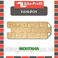 Фасадна панель Альта-Профіль Каньйон 1160х450х20 мм Монтана