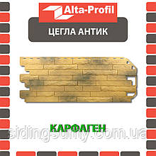 Фасадная панель Альта-Профиль Кирпич-Антик 1170х450х20 мм Карфаген