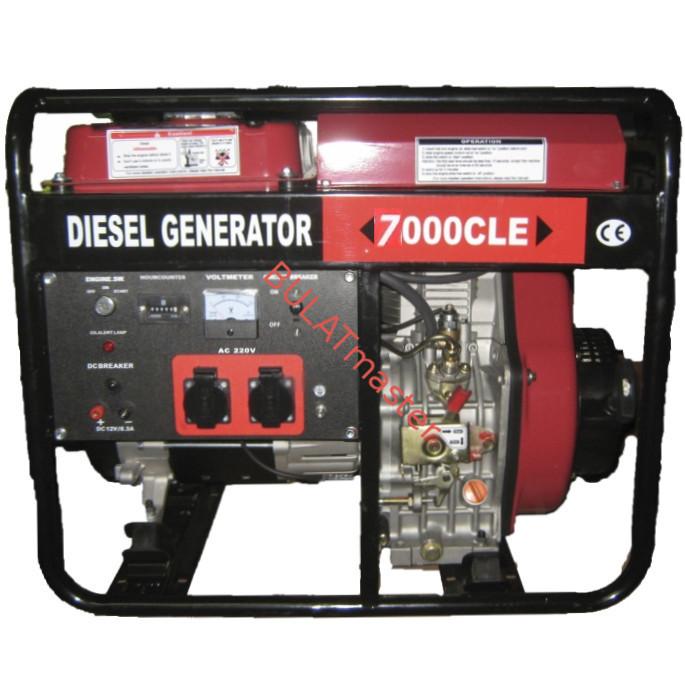 Дизельный генератор WEIMA(Вейма) WM7000CLE (ATS)