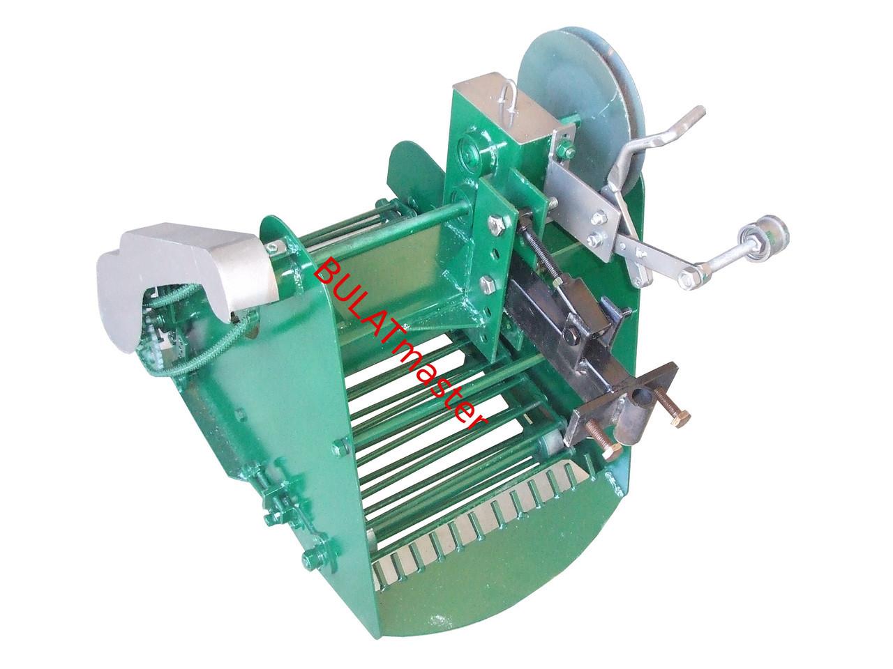 Картофелекопалка для мотоблока транспортерная КМ-5 (привод ременной слева) AGROMARKA