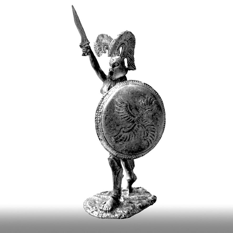 Лакросский гоплит, 480 год до н. э.