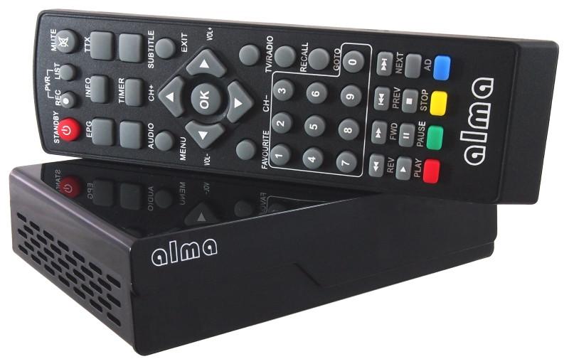 Цифровая приставка ALMA THD 2780 (Чехия)
