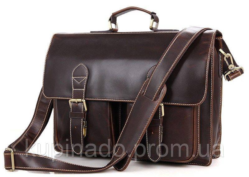 Портфель Vintage 14434 Коричневый, Коричневый
